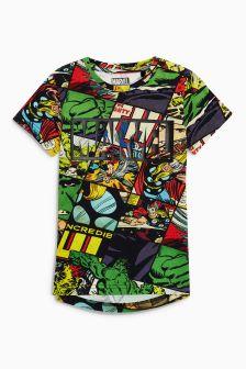 Avengers All Over Print T-Shirt (3-16yrs)