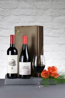 2 Bottles Classic Riojas Wine Gift