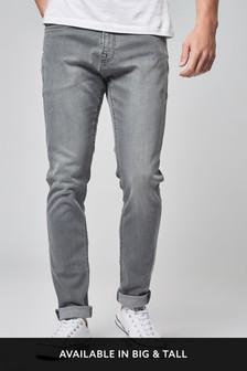 Mens Grey Jeans | Charcoal & Light Jeans For Men | Next UK