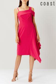 Coast Pink Scarla Soft Shift Dress