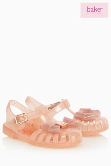 Baker By Ted Baker Toddler Girls Pink Jelly Shoe