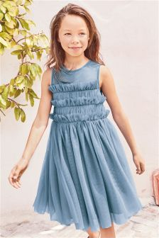 Ruched Dress (3-16yrs)