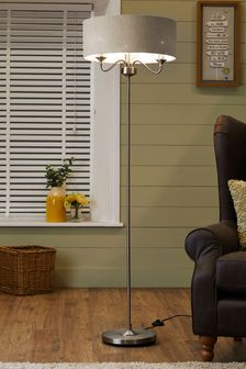 Burford 3 Light Floor Lamp