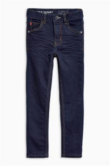 Jersey Look Super Skinny Jeans (3-16yrs)