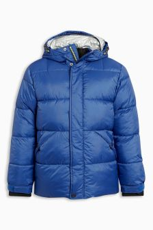Double Hood Padded Jacket (3-16yrs)
