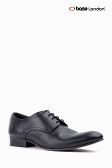 Base London Black Statement Lace-Up Shoe
