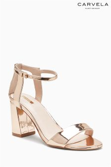 Carvela Rose Gold Gigi Heel Sandal