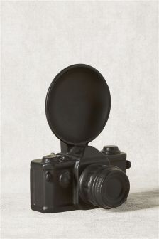 Ceramic Camera Sculpture
