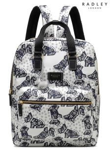 Radley Ivory Folk Dog Backpack Bag