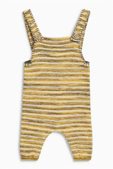 Knit Dungarees (0mths-2yrs)