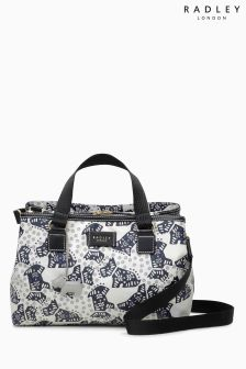 Radley Ivory Folk Dog Multiway Bag