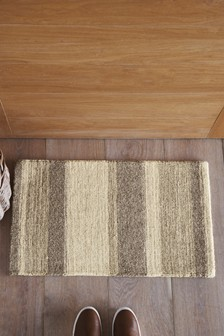 Textured Stripe Doormat