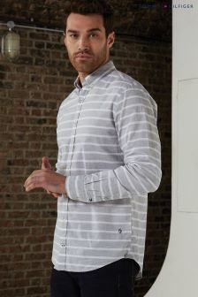 Tommy Hilfiger Grey Bold Stripe Shirt