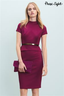 Phase Eight Garnet Darcy Belted Dress
