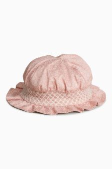 Ditsy Hat (Younger Girls)