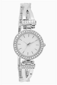 Cross-over Bracelet Watch