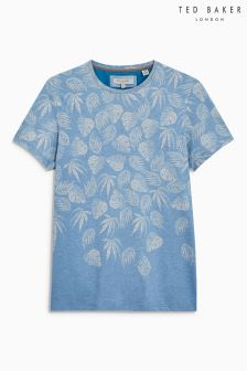 Ted Baker Blue Montana Graphic Tee