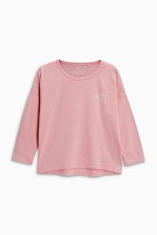 Oversized Long Sleeve Top (3-16yrs)