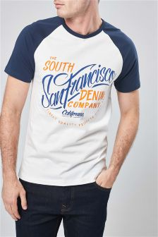 San Francisco Raglan T-Shirt