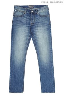 "French Connection Regular 32"" Light Wash Slim Jean"
