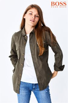 BOSS Khaki Over Size Jacket