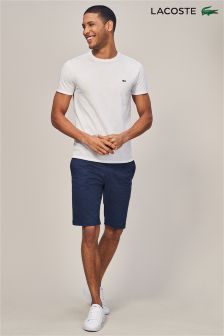 Lacoste® Navy Blue Chino Shorts
