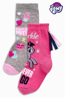 My Little Pony Socks Two Pack (Older Girls)