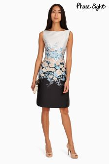 Phase Eight Multi Piper Jacquard Dress
