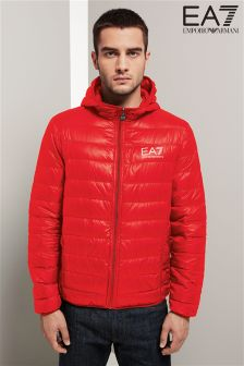 Emporio Armani EA7 ID Down Light Hooded Jacket