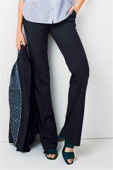 Stripe Boot Cut Trousers