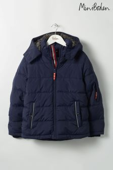 Boden Blue Padded Jacket