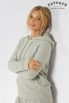 Fat Face Grey Marl Clovelley Hoody