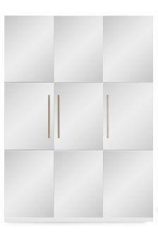 3 Door Standing Wardrobe