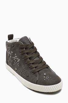 Studded High Tops (Older Girls)