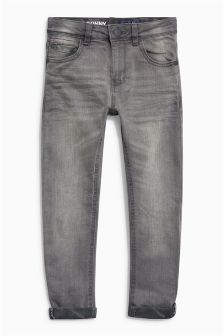 Camo Turn Up Skinny Jeans (3-16yrs)