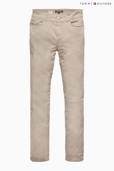 Tommy Hilfiger Beige Silvana Milan Cropped Trouser