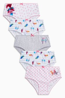 Trolls Briefs Five Pack (1.5-12yrs)