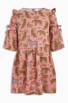 Animal Print Dress (3-12yrs)