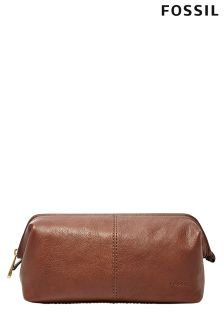 Fossil Leather Washbag