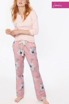 Joules Pink Snooze PJ Bottom