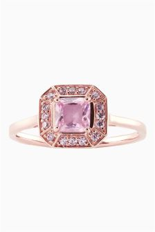 Square Stone Ring