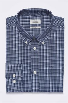 Check Regular Fit Single Cuff Shirt