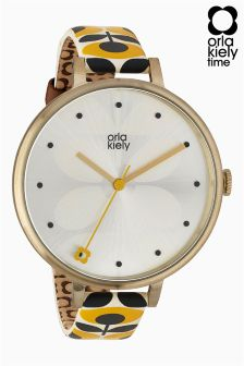 Orla Kiely Ivy Printed Strap Watch