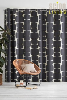 Scion Lohko Black Curtains
