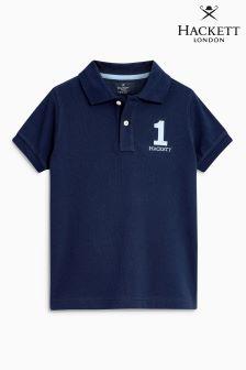 Hackett Navy New Classic Poloshirt