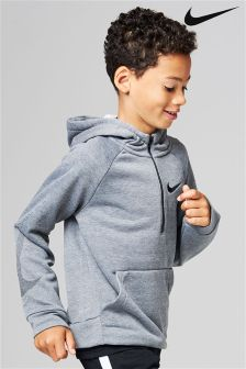 Nike Grey Dry Training Hoody