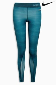 Nike Blue Pro Hypercool Tight