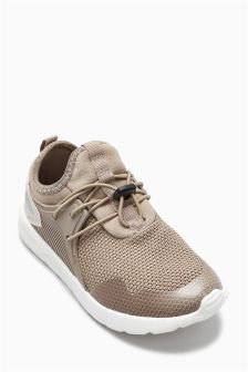 Elastic Lace Fashion Trainers (Older Boys)