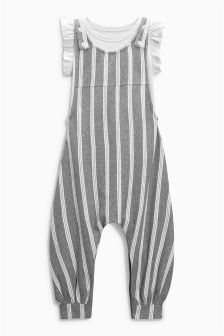 Stripe Playsuit (3mths-6yrs)