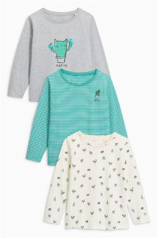 Cactus T-Shirts Three Pack (3mths-6yrs)